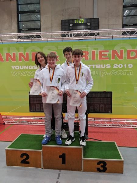 Deutsche Meisterschaft Gold In Moers Sportoberschule Dresden